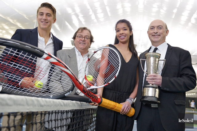 Les champions de l'an dernier Alexandru Pavel et... (Le Soleil, Yan Doublet)