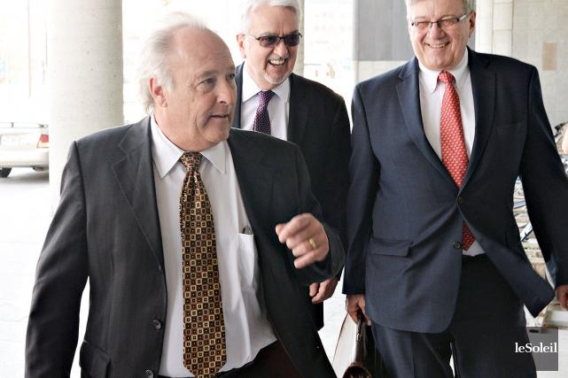 Le juge Michel Girouard... (Le Soleil, Patrice Laroche)