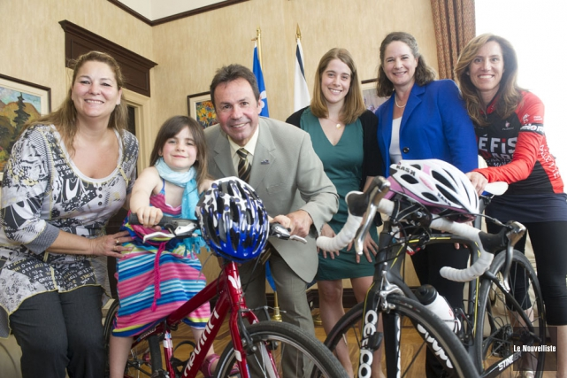 Sur la photo, le maire de Shawinigan, Michel... (Photo: Stéphane Lessard, Le Nouvelliste)