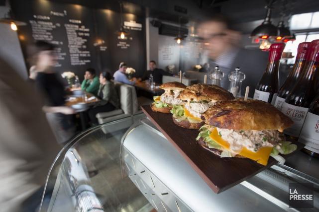 La cuisine, tout en souscrivant aux tendances du... (Photo Ivanoh Demers, La Presse)