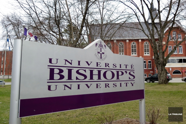 Les étudiants de l'Université Bishop's peuvent désormais payer leurs droits de... (Archives La Tribune, René Marquis)