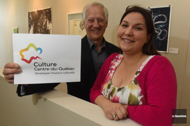 Le président de Culture Centre-du-Québec Yvon Camirand et... (Photo: François Gervais, Le Nouvelliste)