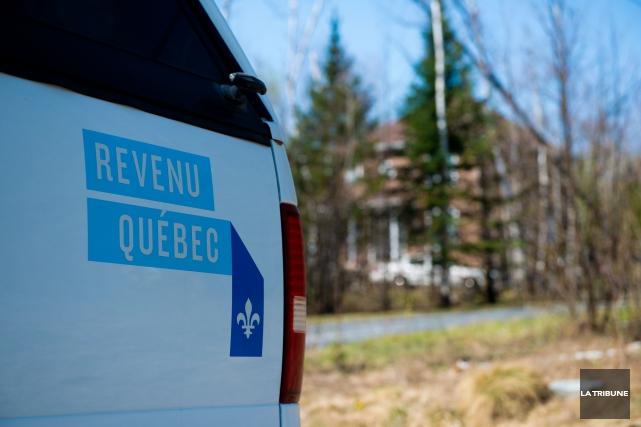 Revenu Québec a frappé mercredi matin en Estrie, en Montérégie et dans les... (Imacom, Jessica Garneau)