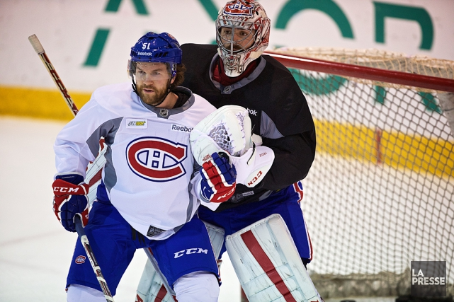 David Desharnais et Carey Price... (Photo André Pichette, archives La Presse)