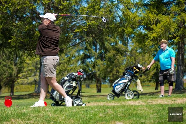 La Ville d'East Angus a acquis le terrain où se situe le Club de golf d'East... (Imacom, Jessica Garneau)