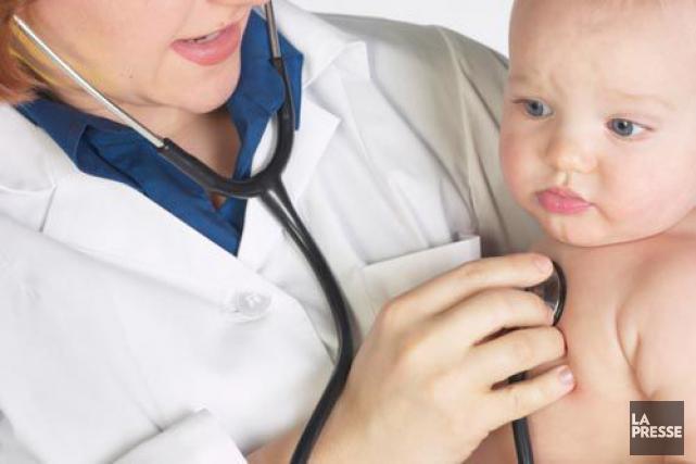 Une toute nouvelle mini-urgence pédiatrique vient d'ouvrir ses portes, ce... (Archives, La Presse)