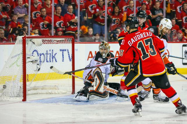 Les Ducks d'Anaheim ont subi une première défaite... (Photo Sergei Belski, USA Today)