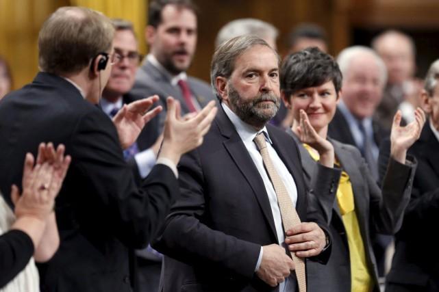 L'élection d'un gouvernement néo-démocrate en Alberta donne des... (CHRIS WATTIE, REUTERS)