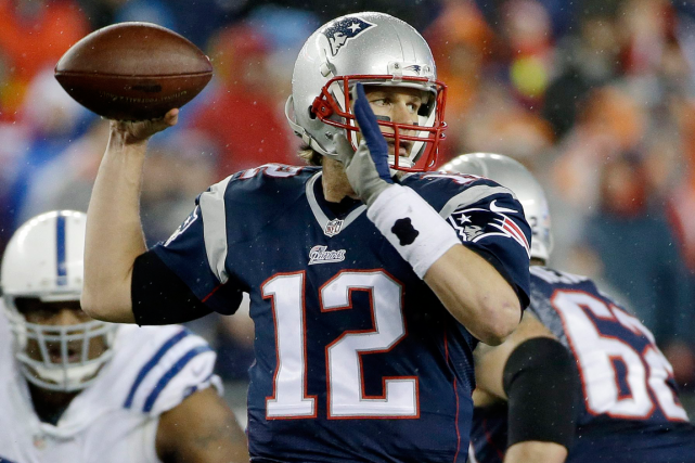 Tom Brady... (Photo Matt Slocum, AP)