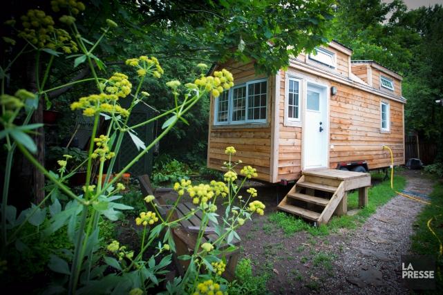 Les adeptes de mini-maisons ont maintenant leur festival.... (Photo Olivier Jean, La Presse)