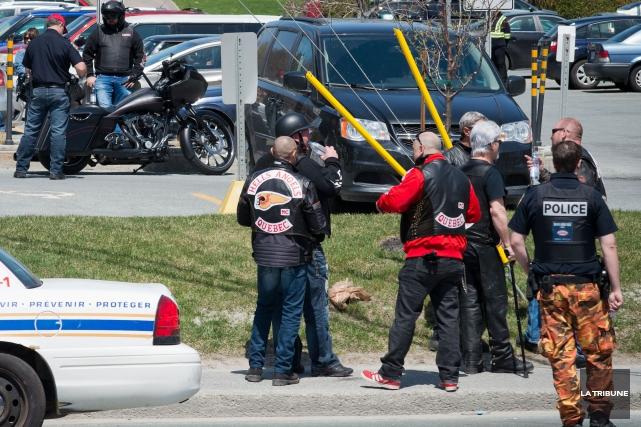 L'opération policiere a eu lieu sur la rue... (Imacom, Jessica Garneau)
