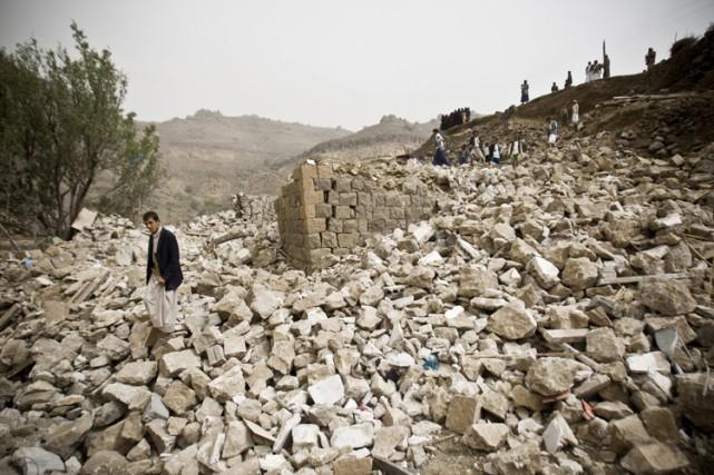 «Pour l'instant, la crise immédiate est humanitaire», a... (Photo: AP)