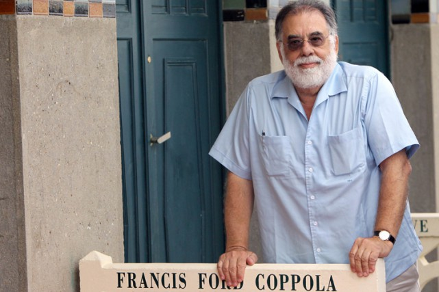 Francis Ford Coppola à Deauville en 2011.... (Archives AFP)