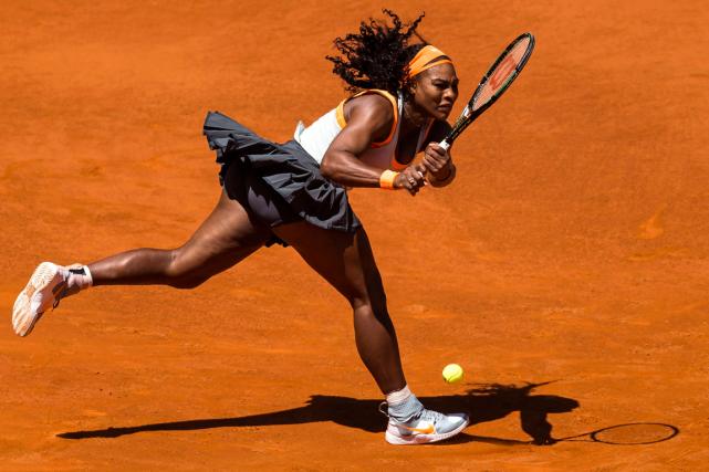 Serena Williams... (Photo Daniel Ochoa de Olza, AP)