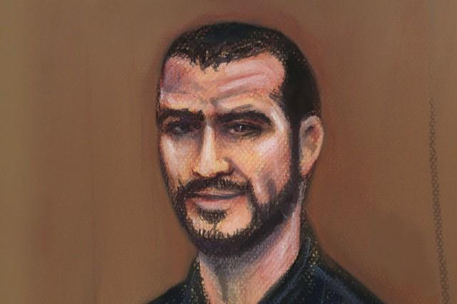 Omar Khadr a dit avoir toujours rejeté la... (Illustration Amanda McRoberts, La Presse Canadienne)