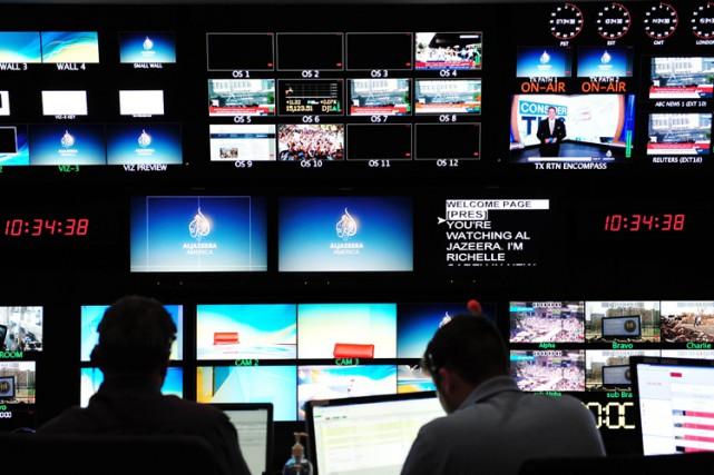 La chaîne Al-Jazeera America a annoncé mercredi la nomination d'un nouveau... (Archives AFP)