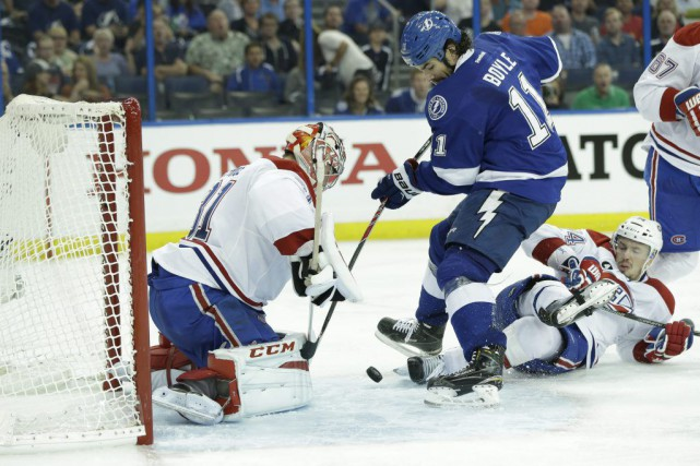 Le Lightning prend l'avance 3-0 dans la série... (Photo: Reuters)