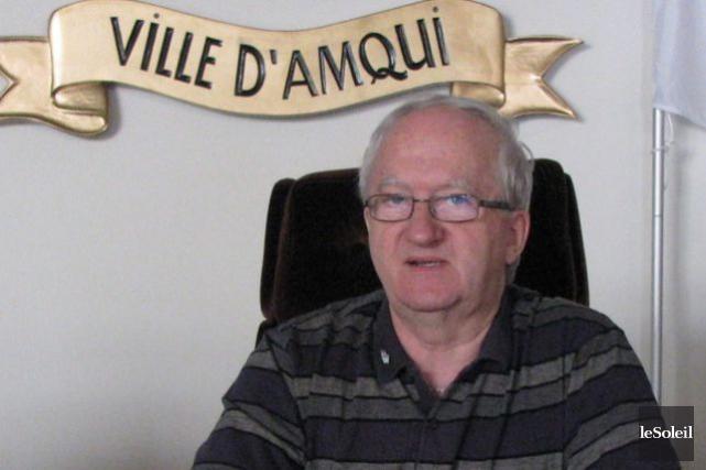 Le maire d'Amqui, Gaétan Ruest... (Photothèque Le Soleil)