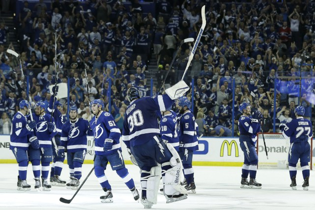 Le Lightning a porté son avance à 3-0... (Associated Press)