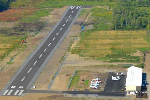 L'aérodrome de Neuville... (Photothèque Le Soleil)