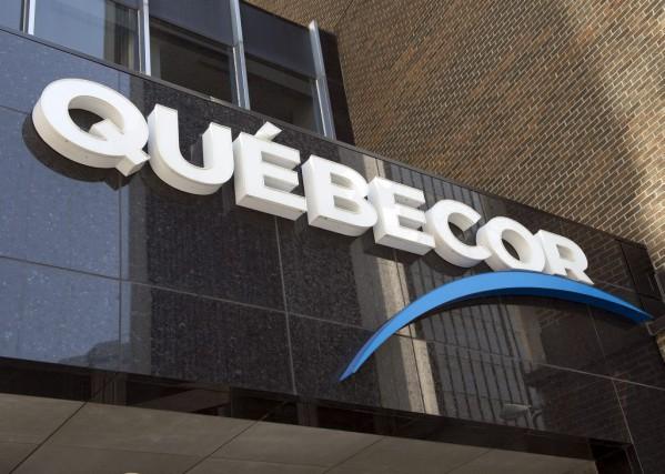 Québecor... (Photo Ryan Remiorz, La Presse Canadienne)