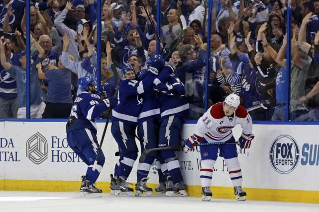 Le Lightning de Tampa Bay a semé l'hystérie... (Photo: Agence France-Presse)