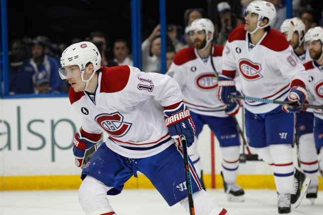 Brendan Gallagher fêtait hier son 23e anniversaire. Il... (Photo Kim Klement, USA Today)