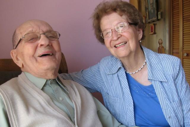 Alonzo et Pierrette Proulx célébreront leur 70e anniversaire... (Denis Gratton, LeDroit)
