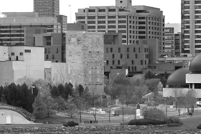La tour de lessivage E.B. Eddy, construite en 1901 et classée «édifice fédéral... (Archives, LeDroit)