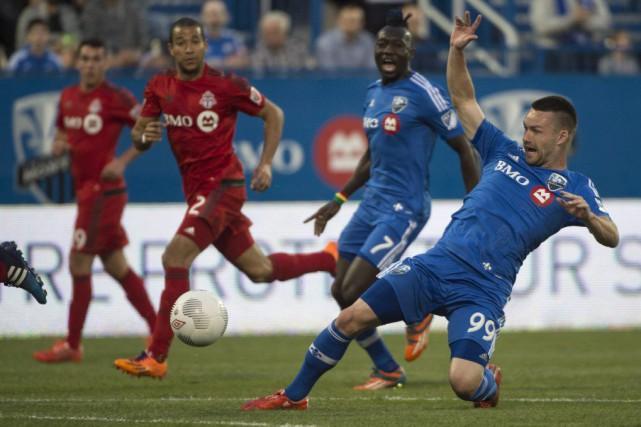 Jack McInerney a marqué l'unique but du match.... (La Presse Canadienne)