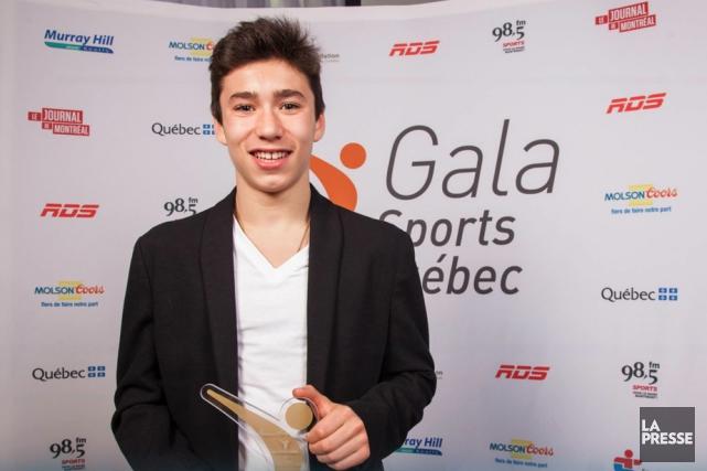 Pavlos Antoniades a remporté le Maurice dans la... (Photo: La Presse)