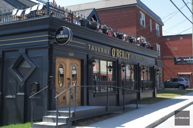 La Taverne irlandaise O'Reilly et le restaurant Fondue Folie sont à vendre. Le... (Imacom, René Marquis)