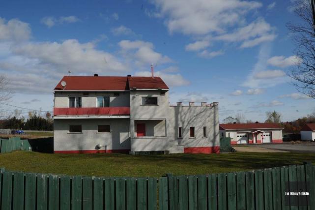 Le bunker des Hells Angels à Trois-Rivières.... (Photo: Sylvain Mayer, Le Nouvelliste)
