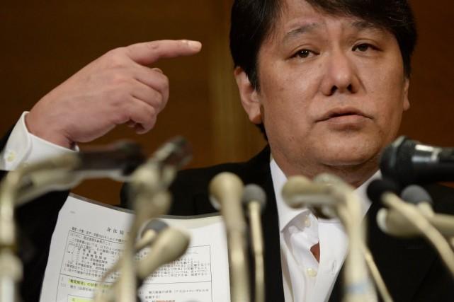 Mamoru Samuragochi... (PHOTO Toru YAMANAKA, archives AFP)