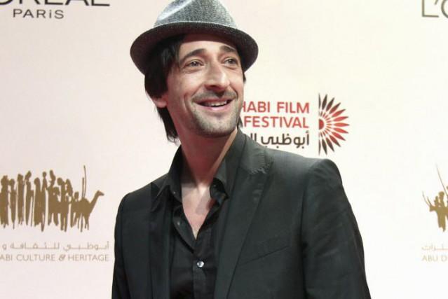 Adrien Brody au Festival du film d'Abou Dhabi,... (Photo Farhad Berahman, archives AP)
