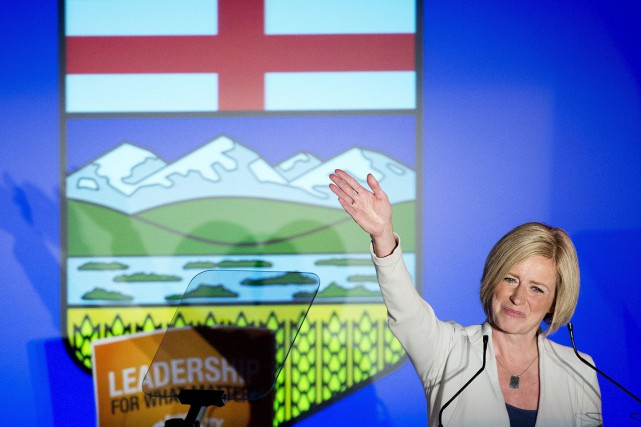 Rachel Notley... (Photo PC)