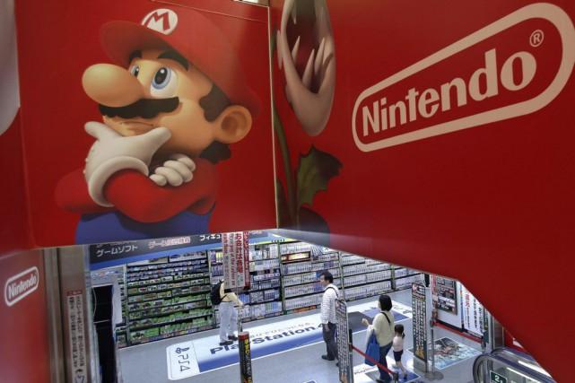 Nintendo promet d'enrichir les séries vedettes comme Mario... (Photo Shizuo Kambayashi, Archives AP)
