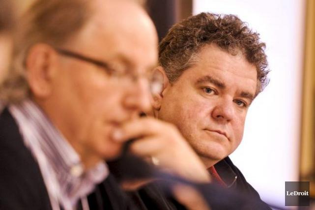 Patrick Duguay, directeur général de la CDR Outaouais-Laurentides,... (Patrick Woodbury, Archives LeDroit)