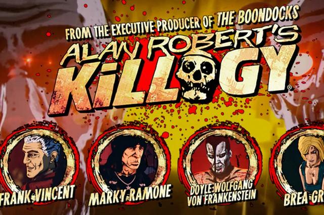 La série d'humour noir Killogy a été conçue...