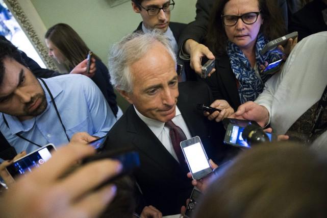 «Cette loi permettra au Congrès, au nom des... (Photo Evan Vucci, AP)