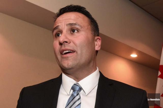 Dominic Therrien, candidat conservateur dans Trois-Rivières.... (Photo: François Gervais, Le Nouvelliste)