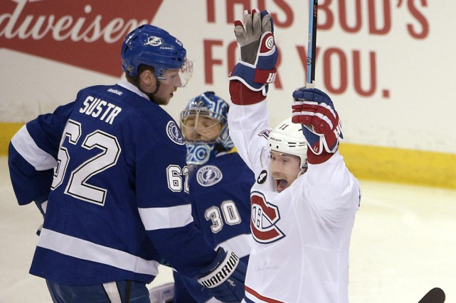 Le Canadien évite l'élimination avec un gain de... (Photo: Associated Press)
