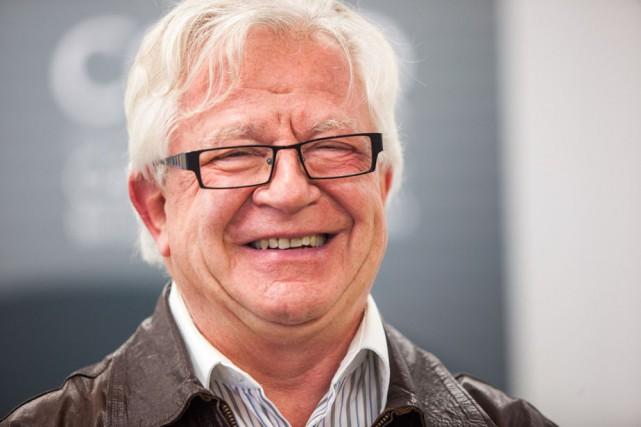Jean-Guy Doucet, président de la CCICQ.... (Photo: Olivier Croteau, Le Nouvelliste)