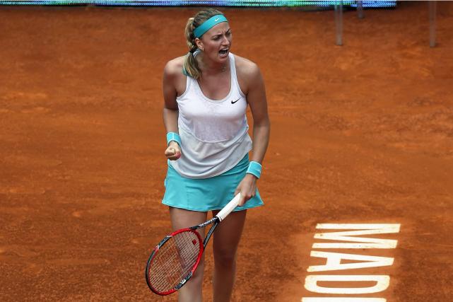 Petra Kvitova a signé sa première victoire face... (Photo Andrea Comas, Reuters)