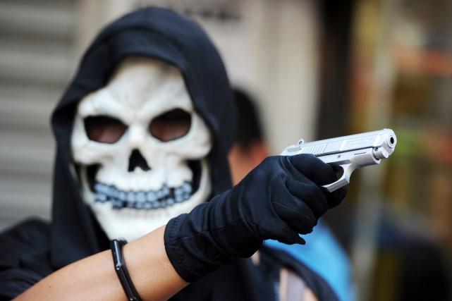 Le Honduras est le pays considéré comme le... (PHOTO ORLANDO SIERRA, ARCHIVES AFP)