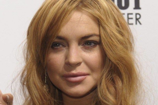 Lindsay Lohan... (Photo: archives AFP)