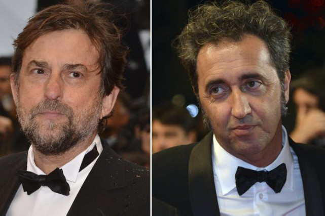 Nanni Moretti et Paolo Sorrentino... (Photo: archives AFP)