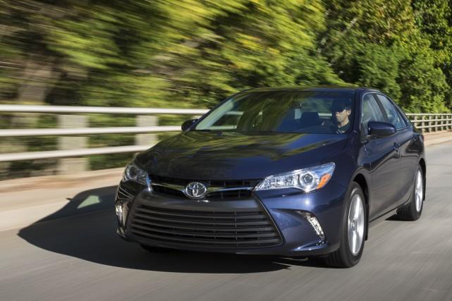 Les criminels ciblaient surtout les véhicules Lexus et... (Photo fournie par Toyota)