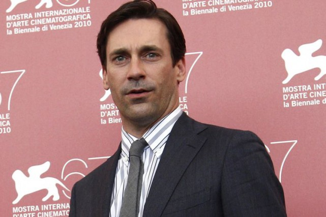 Jon Hamm... (Photo: archives Reuters)