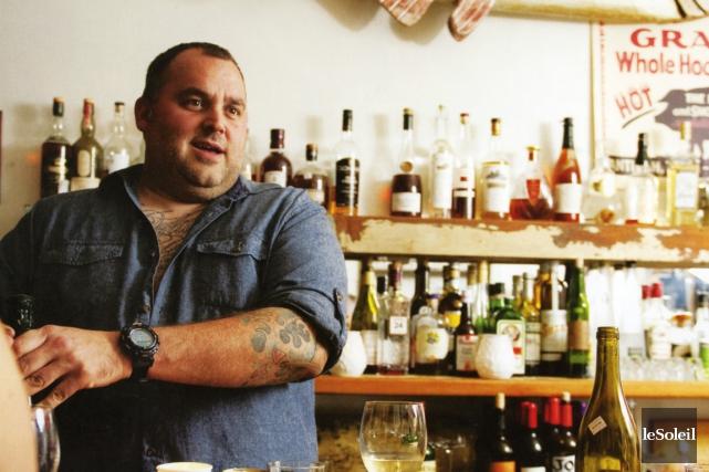 Le propriétaire du Joe Beef, David McMillan.... (Photothèque Le Soleil)